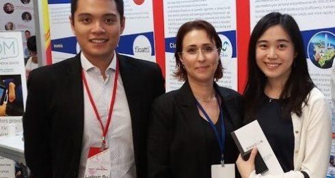 מיזם בוגר מחזור 2017 זכה להימנות עם קבוצה קטנה של סטארטאפים בתחרות בינלאומית בטיוואן, נבחר מתוך מאות רבות. בתמונה אחת המייסדות ורוניקה לויפרמן ClearSkin